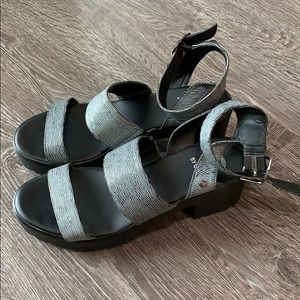Guess chunky sandals